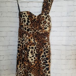 Nanette Lepore Leopard Print Dress